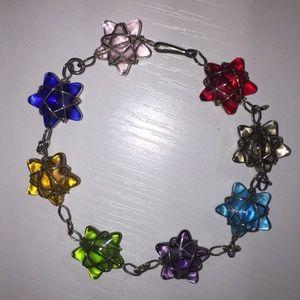Jewelry - ⭐️Rainbow Star bracelet⭐️